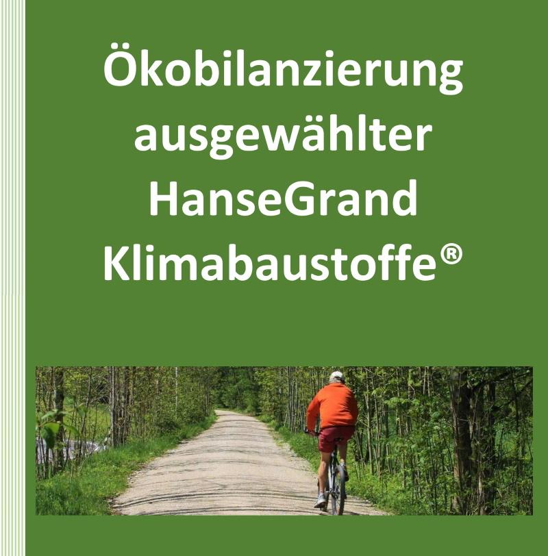 Ökobilanzierung HanseGrand Klimabaustoffe