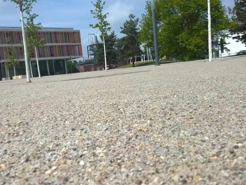 Parkplatz unversiegelt