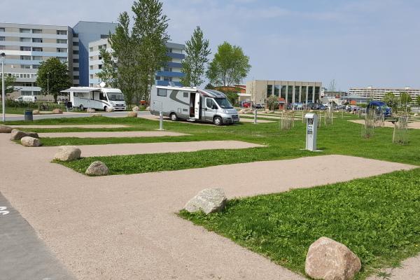 Parkplatz Camping HanseGrand