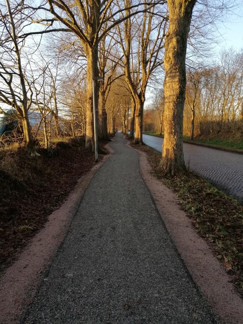 HG Patentweg als Radweg