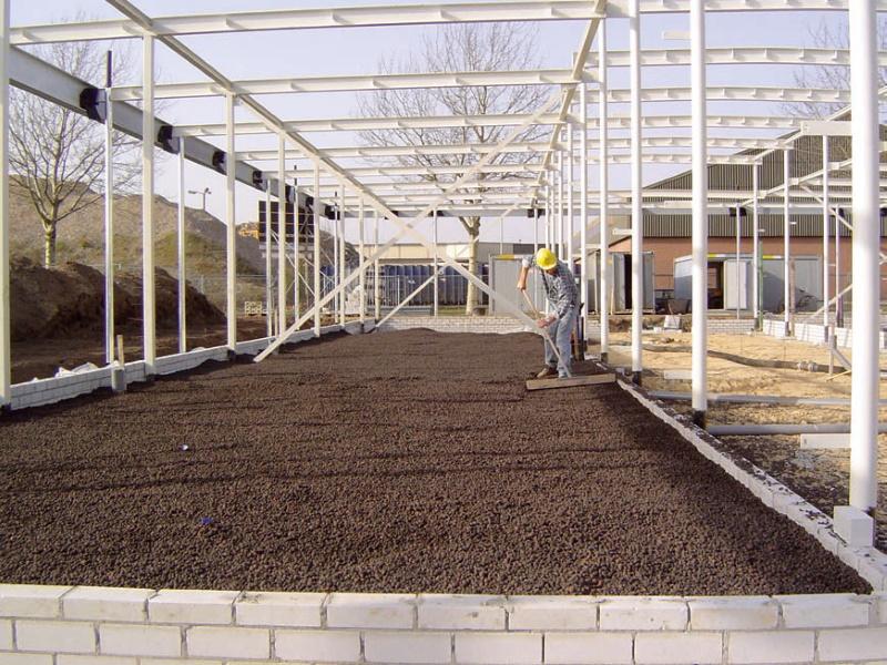 Thermoboden für Industriegebäude